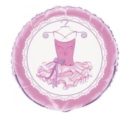 """Folinis balionas """"Balerinos suknelė"""" (45 cm)"""