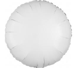 """Folinis balionas """"Baltas apskritimas"""" (43 cm)"""