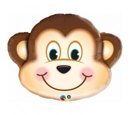 """Folinis balionas """"Beždžionėlė"""" (89 cm)"""
