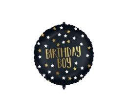 """Folinis balionas """"Birthday Boy"""" su svareliu (46 cm)"""