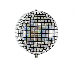 "Folinis balionas ""Disco ball"" (40 cm)"