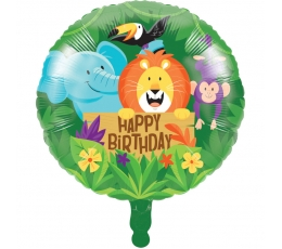 """Folinis balionas """"Džiunglės"""" (45,7 cm)"""