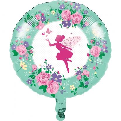 """Folinis balionas """"Gėlių fėja"""" (45 cm)"""