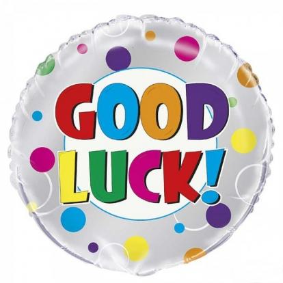 "Folinis balionas ""Good luck"" (45 cm)"