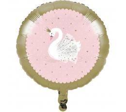 """Folinis balionas """"Gulbė"""" (45,7 cm)"""