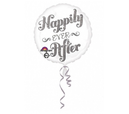 """Folinis balionas """"Happily ever After"""" (43 cm)"""