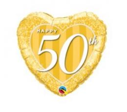 "Folinis balionas ""Happy 50 th"" (46 cm)"