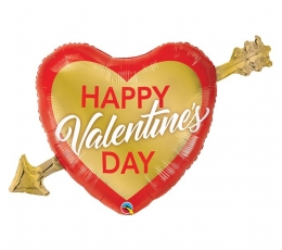 "Folinis balionas ""Happy Valentine's day"" (99 cm)"