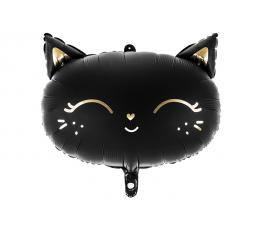 """Folinis balionas """"Juoda katė"""" (48 x 36 cm)"""