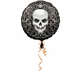 """Folinis balionas """"Kaukolė"""" (45 cm)"""