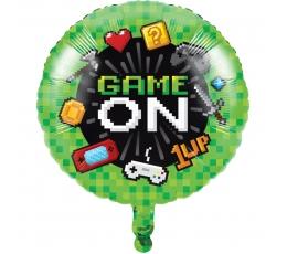 """Folinis balionas """"Kompiuteriniai žaidimai"""" (45,7 cm)"""