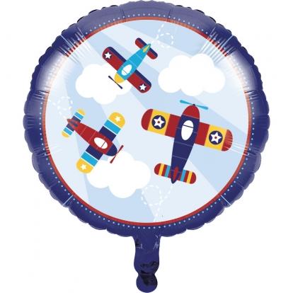 """Folinis balionas """"Lėktuvėliai"""" (45 cm)"""