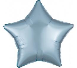 """Folinis balionas """"Melsva žvaigždė"""", matinis (48 cm)"""