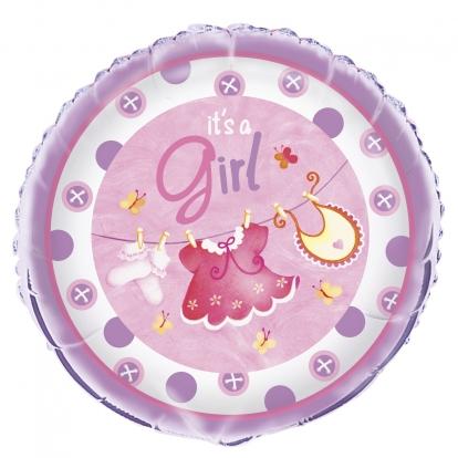 "Folinis balionas ""Mergaitė"" (45 cm)"