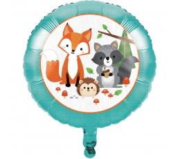 """Folinis balionas """"Miško žvėreliai"""" (45,7 cm)"""