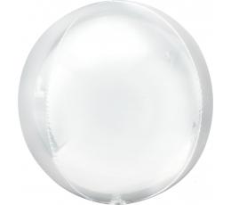 Folinis balionas-orbz, baltas (38x40 cm)