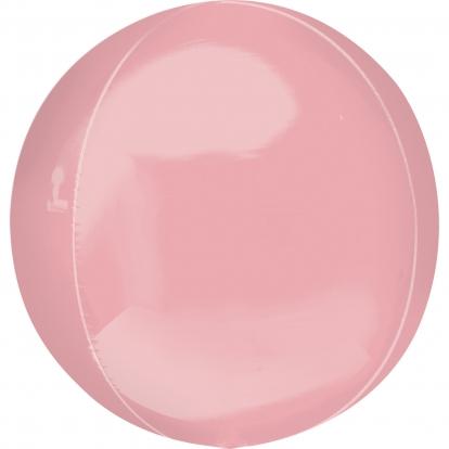 """Folinis balionas """"Orbz"""", rausvas (38 cm)"""