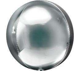 """Folinis balionas """"Orbz"""", sidabrinis"""