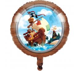 """Folinis balionas """"Piratai jūroje"""" (45 cm)"""