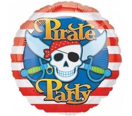 """Folinis balionas """"Piratų vakarėlis"""" (43 cm)"""