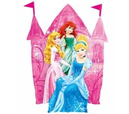 """Folinis balionas """"Princesių pilis"""" (66x68 cm)"""