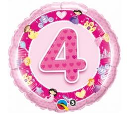 """Folinis balionas """"Princess- 4"""" (46 cm)"""
