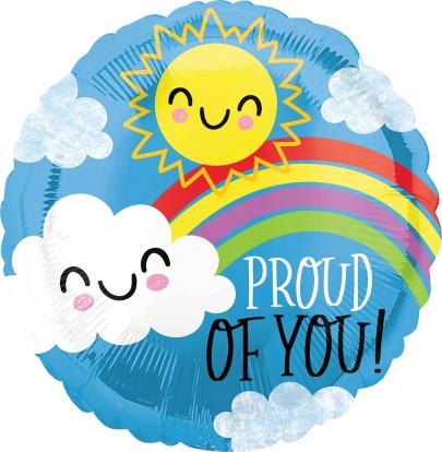 """Folinis balionas """"Proud of you"""" (43 cm)"""