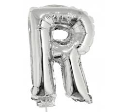 """Folinis balionas-raidė """"R"""" (41 cm)"""