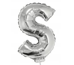 """Folinis balionas-raidė """"S"""" (41 cm)"""