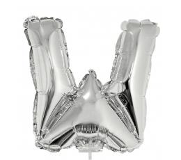 """Folinis balionas-raidė """"W"""" (41 cm)"""
