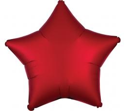 """Folinis balionas """"Raudona žvaigždė"""" (48 cm)"""