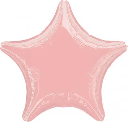 """Folinis balionas """"Rausva žvaigždė"""" (45 cm)"""