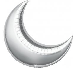 """Folinis balionas """"Sidabrinis mėnulis"""" (33x36 cm)"""