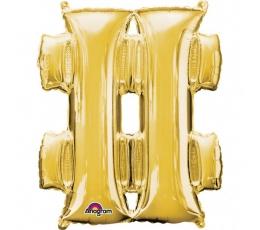 """Folinis balionas-simbolis """"Grotažymė """" (83 cm)"""