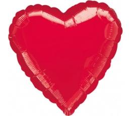 """Folinis balionas """"Širdis""""  (91 cm)"""
