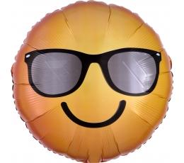 """Folinis balionas """"Smiling Sunglass Emoticon""""(43 cm)"""