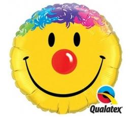 """Folinis balionas """"Spalvota šypsenėlė"""" (91 cm)"""