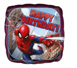 "Folinis balionas ""Spider Man-Happy birthday"""