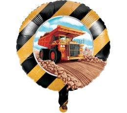 """Folinis balionas """"Statybos"""" (45 cm)"""