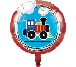"""Folinis balionas """"Traukinukas"""" (43 cm)"""