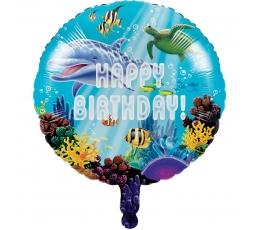 """Folinis balionas """"Vandenyno paslaptys"""" (45 cm)"""