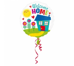 "Folinis balionas ""Welcome Home"" (43 cm)"