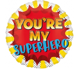 "Folinis balionas ""You're my Superhero"""