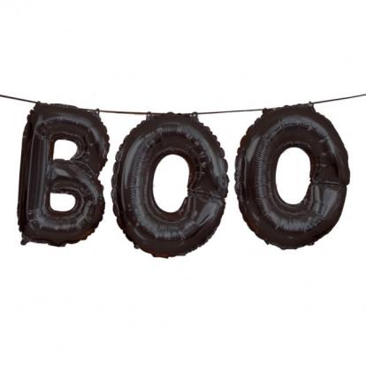 """Folinių balionų rinkinys """"Boo"""""""