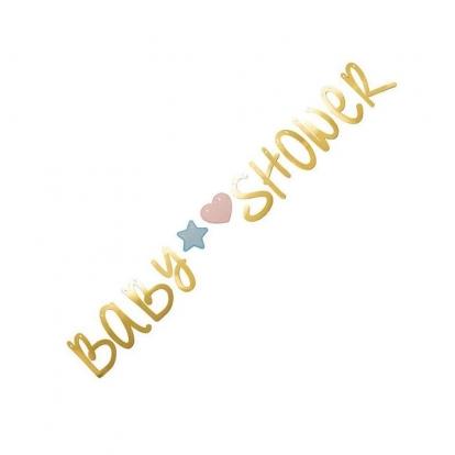 "Forminė girlianda ""Baby shower"" (2,2 m)"