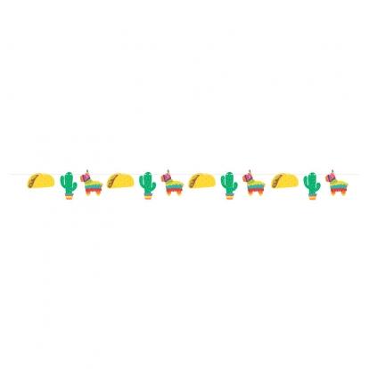 """Forminė girlianda """"Fiesta Meksikoje"""""""