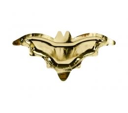 """Forminės lėkštutės """"Auksiniai šikšnosparniai"""" (6 vnt./37x18 cm)"""