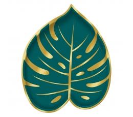"""Forminės lėkštutės """"Aukso palmė"""" (8 vnt./18x22 cm)"""