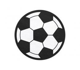 "Forminės servetėlės ""Futbolas"" (20 vnt./13 cm)"