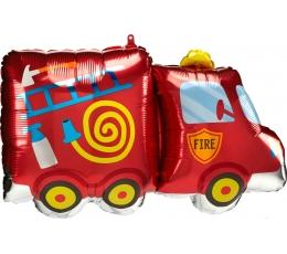 """Forminis balionas """"Gaisrinė mašina"""" (76 x 45 cm)"""